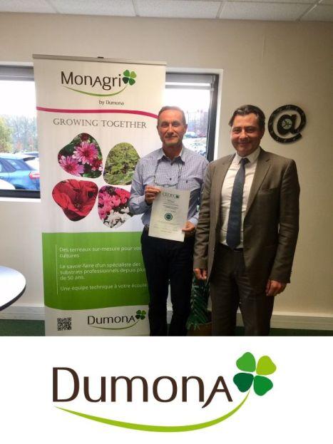 DUMONA reçoit le certificat de la norme CEDEC de qualité managériale et maintient sa collaboration avec le CEDEC