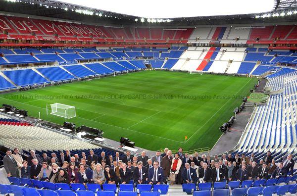 L'équipe de CEDEC France au Parc Olympique Lyonnais