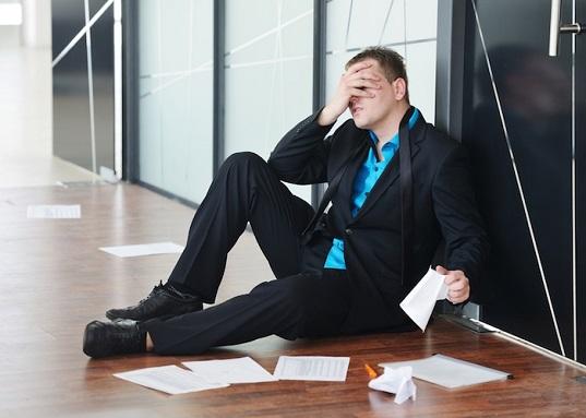 Comment surmonter l'échec d'une entreprise