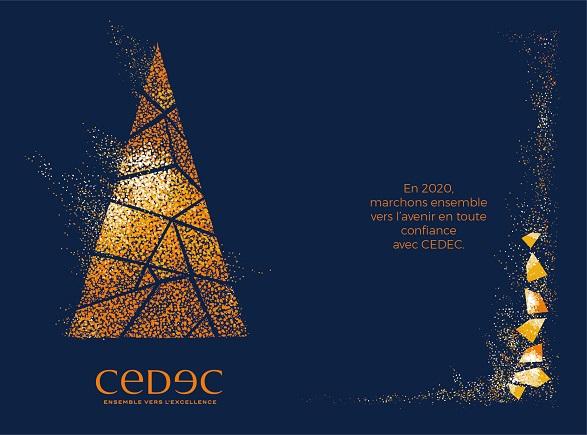 CEDEC vous souhaite un Joyeux Noël et une bonne année 2020 !